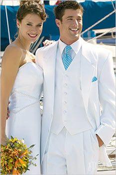 FREE EMS!New Arrival White Groom Tuxedos Notch Lapel Groomsmen Men Wedding Suits(Jacket+Pants+Tie+Vest)traje Hombre De Novio