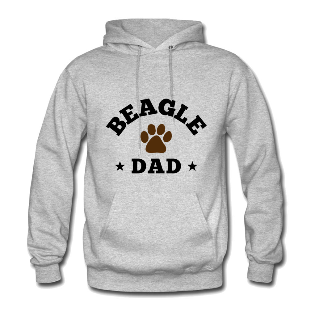 2018 New Hoodies Man Beagle Dad Letter Print Hoodie Sweatshirt Hip Hop Hooded Long Sleev ...