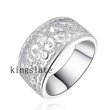 LR054 Christmas gift  wholesale Retro silver for women wedding ring best quality fashion Charm classic , Jewelry