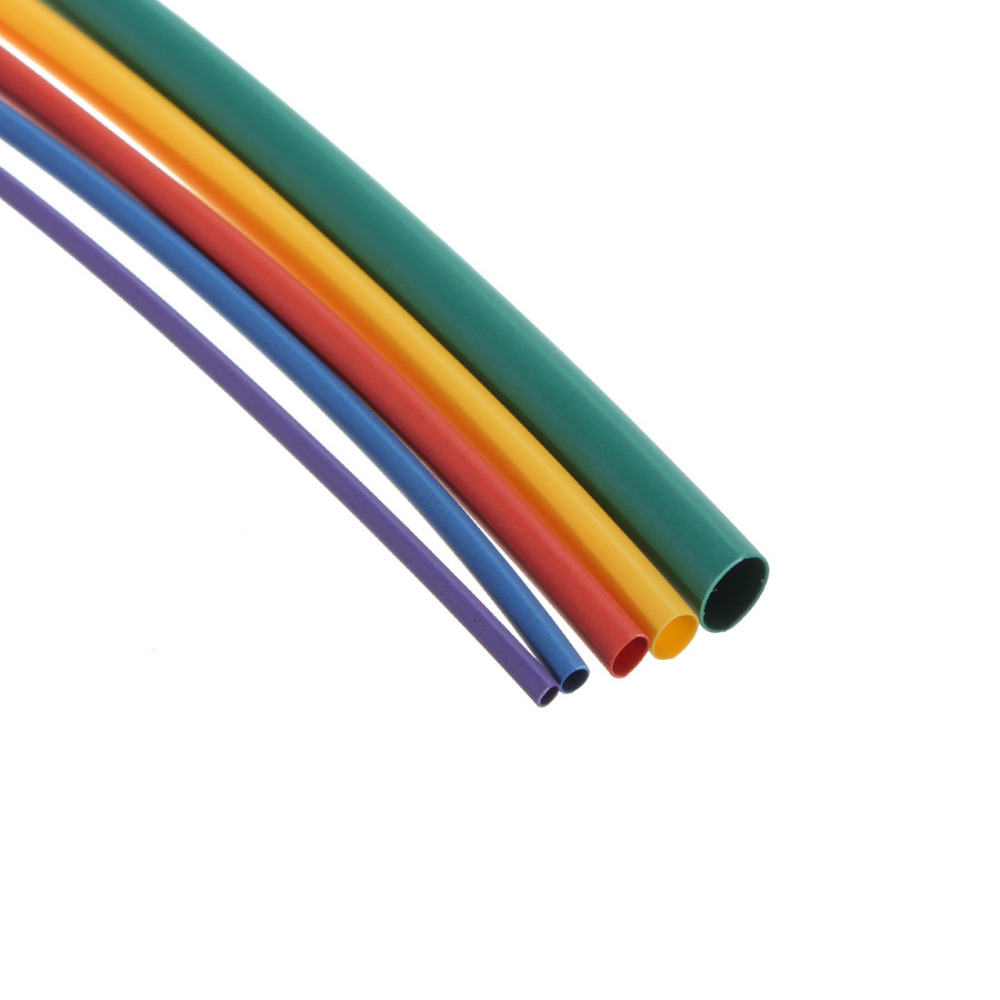 55pcs Assortment 2:1 Heat Shrink Tubing Sleeving Wire Mult Color Hot ...