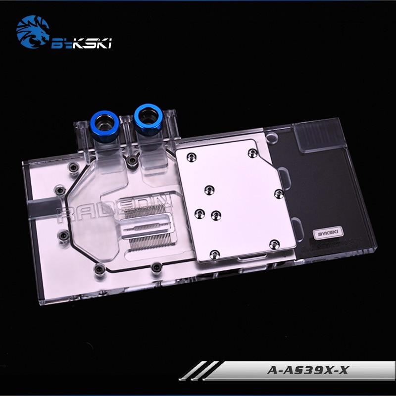 Bykski A-AS39XDC3-X, Full Cover Grafikkarte Wasserkühlblock RGB / - Computerkomponenten - Foto 2