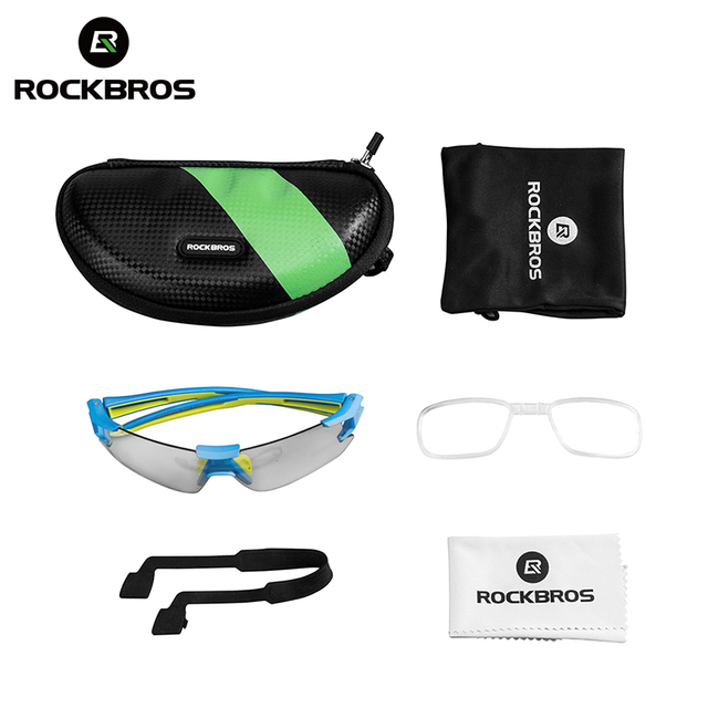 ROCKBROS Cycling Photochromic Glasses UV400 Outdoors Sports Sunglasses Bicycle Mens Frameless Glasses Goggles Technical Eyewear 5