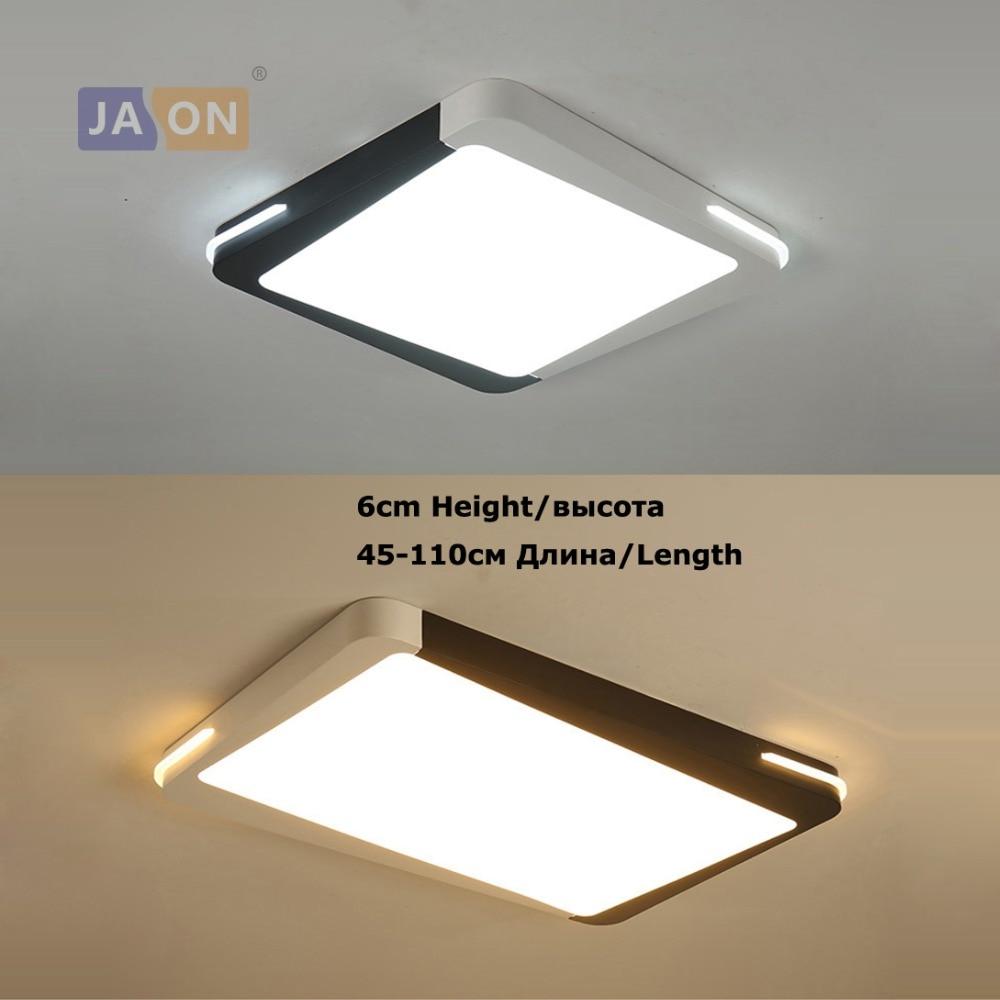 LED Modern Acryl Iron Square Rectangle 6cm Height LED Lamp.LED Light.Ceiling Lights.LED Ceiling Light.Ceiling Lamp For Foyer цепочка с подвеской 0 multi za jewwlry necklaces