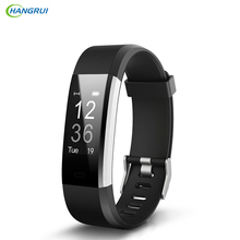 HANGRUI ID115 PLUS Sport Good Wristband Coronary heart Fee Monitor Sleep Monitor IP67 Waterproof Good Band Bracelet Health Tracker