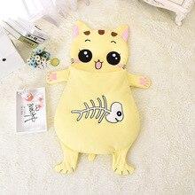 0-3 Year 85 105cm Baby Sleep Sack Newborns Envelope Frog Cat Dog Fish Winter Summer Sleeping Bag Shark Kid For  Child