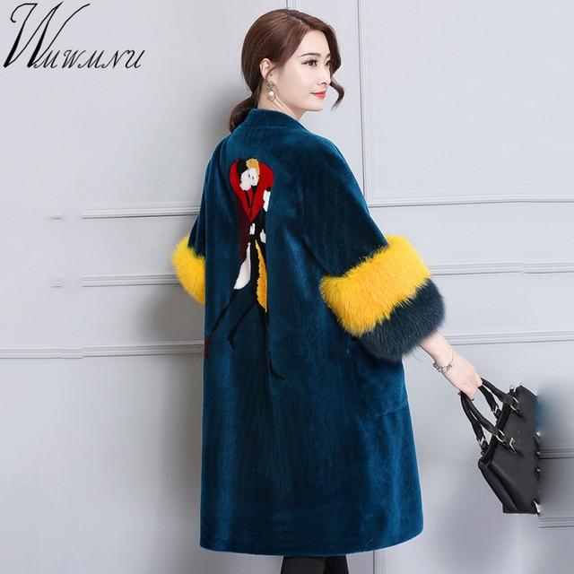0c9adb2f65f59a Wmwmnu-Femme-Veste-D-hiver-Agneaux-impression-Laine-Manteau-en-cachemire-pais-Manteaux-Veste-Longue-Femme.jpg 640x640.jpg