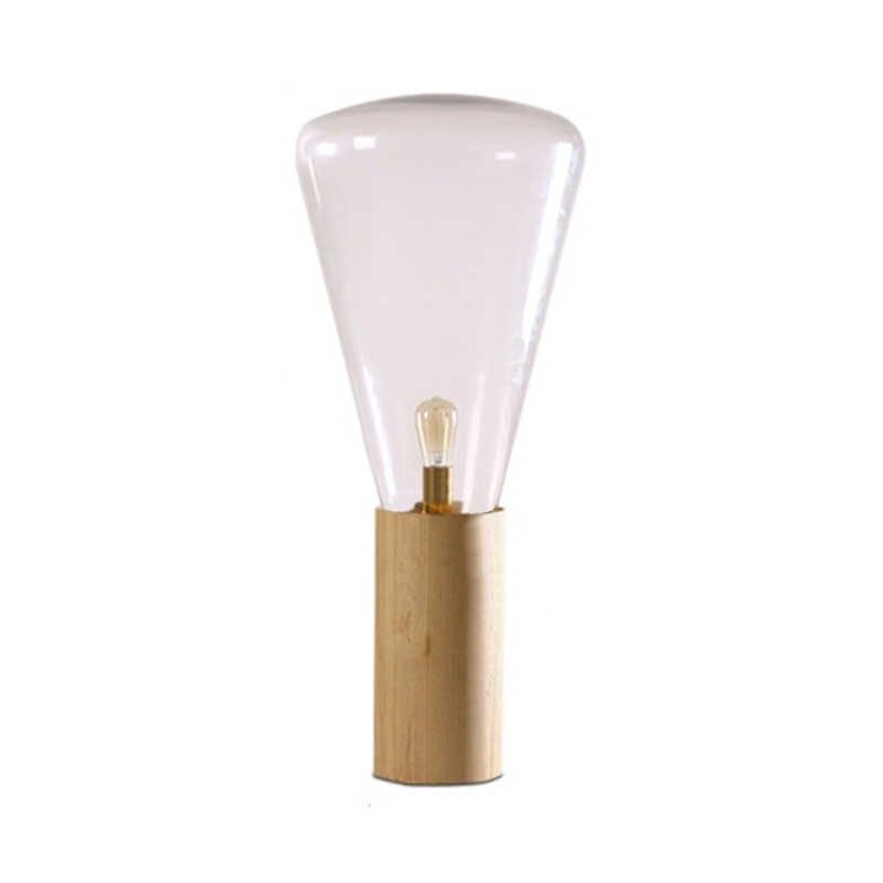 Brokis Ins Floor Lamp Wood Base