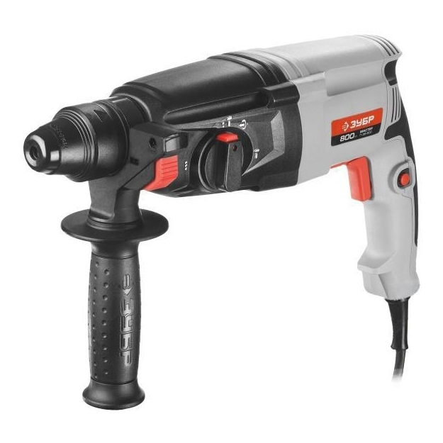 Electric hammer drill BISON П-26-800 (no-load Speed 1300 rpm, 4800 strokes per minute, the reverse) цены