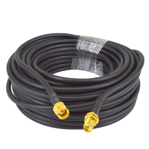 Image 4 - 15 Meter(49.2 Ft) Low Loss SMA Female to SMA Male Extension RG58 Coaxial Cable Connector