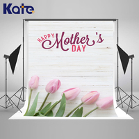 Kate 10x10ft Happy Mothers Day Photography Backdrop Write Wood Wall Photo Background Flowers Photography Props