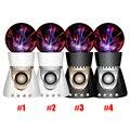 100% embalagem original íon eletrostática esférica lâmpada de luz bola de plasma magia bluetooth speaker para htc lg iphone 5 6 7