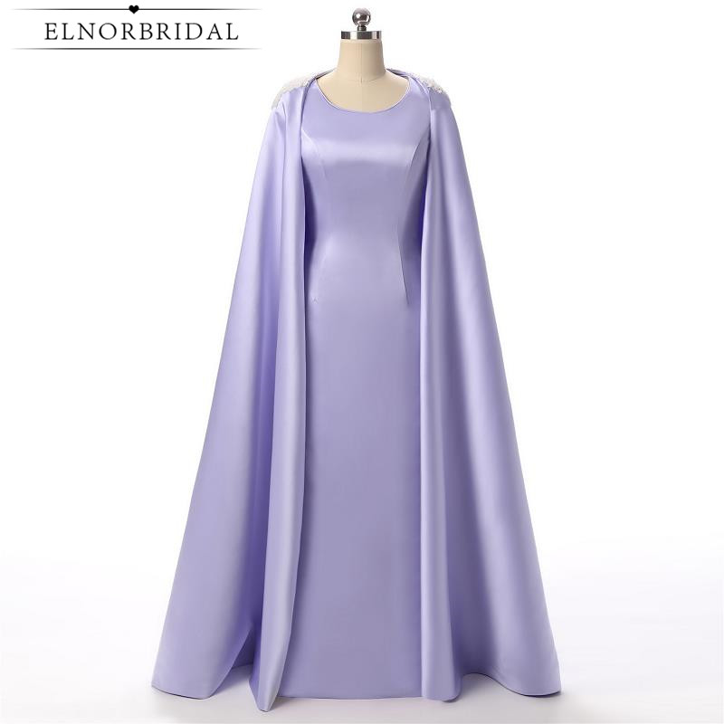 Lavender Mermaid Mother Of The Bride Dresses 2017 Vintage Moroccan Kaftan Formal Women Evening Dress