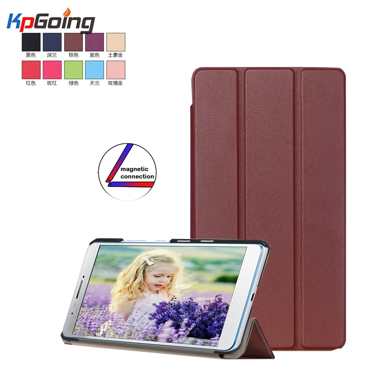 Top PU Leather Cover Stand Case for Lenovo TAB3 Tab 3 7 Plus 7703 7703x TB-7703X TB-7703F 7 Inch Tablet for Lenovo TAB3 7 Plus appella 484 5001