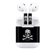Прямая пыле защитный кожи и винила материал наклейка для Apple airpods с Лидер продаж# TN-APOD-0026
