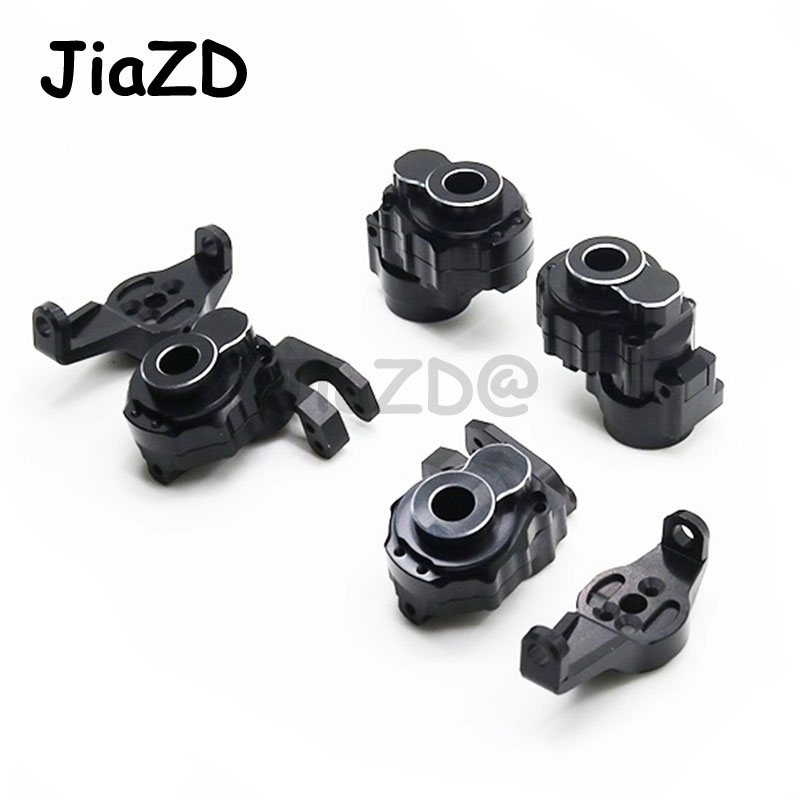 Metal OP upgrade parts TRAXXAS Front Caster Blocks Portal Drive modified steering cup C-seat steering rear axle modification S92
