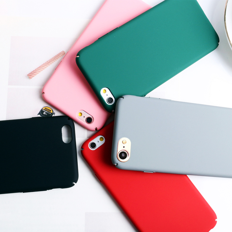 Caramelo de la manera colorida caso duro caso para iphone 7 for iphone7 7 Plus C