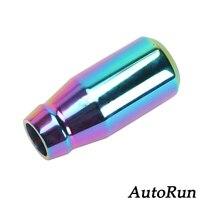 O envio gratuito de alumínio manual da shift de engrenagem knob shifter fit for honda civic venda
