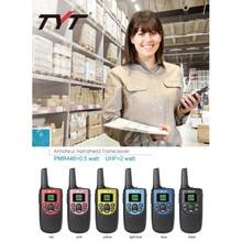 NEW Two Way Radio Walkie Talkie Kids TYT TH-258 Portable 2.5W Long Range Small mini Security PMR446 FM Ham Transceiver Radio