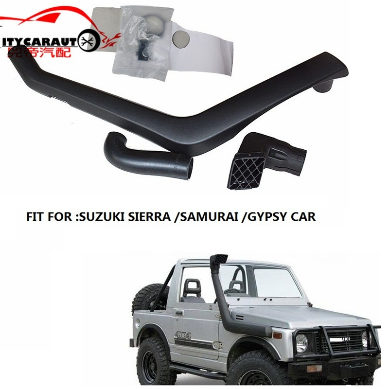 CITYCARAUTO CAR STYLING 4*4 Snorkel Kit Air Intake Fit For SUZUKI SIERRA SAMURAI GYPSY 1984-1998 Model 1.3L Petrol PICKUP CAR