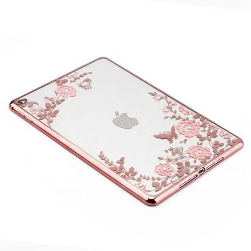 Soft Silicon TPU Case For Apple ipad Air 2 ipad6 Case Back Cover Tablet Fundas Beautiful Flowers Skin Shield Protective Shell nice soft silicone back magnetic smart pu leather case for apple 2017 ipad air 1 cover new slim thin flip tpu protective case