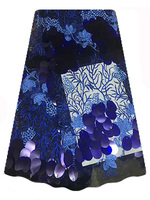 Bestway FL1557 French lace with big sequins Material 2017 High Quality African Lace Fabric For Women