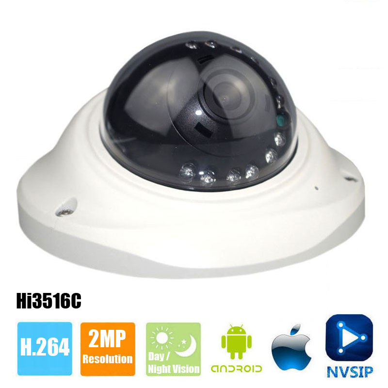 HI3516C FULL HD 1080P IP Camera 2MP Indoor Dome Security Camera IP External Audio Pick Up Night vision onvif android ios mobileHI3516C FULL HD 1080P IP Camera 2MP Indoor Dome Security Camera IP External Audio Pick Up Night vision onvif android ios mobile