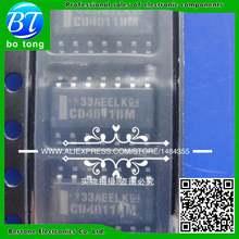 Pcs frete grátis CD4011BM 50 CD4011 HEF4011BT HEF4011 SOP-14