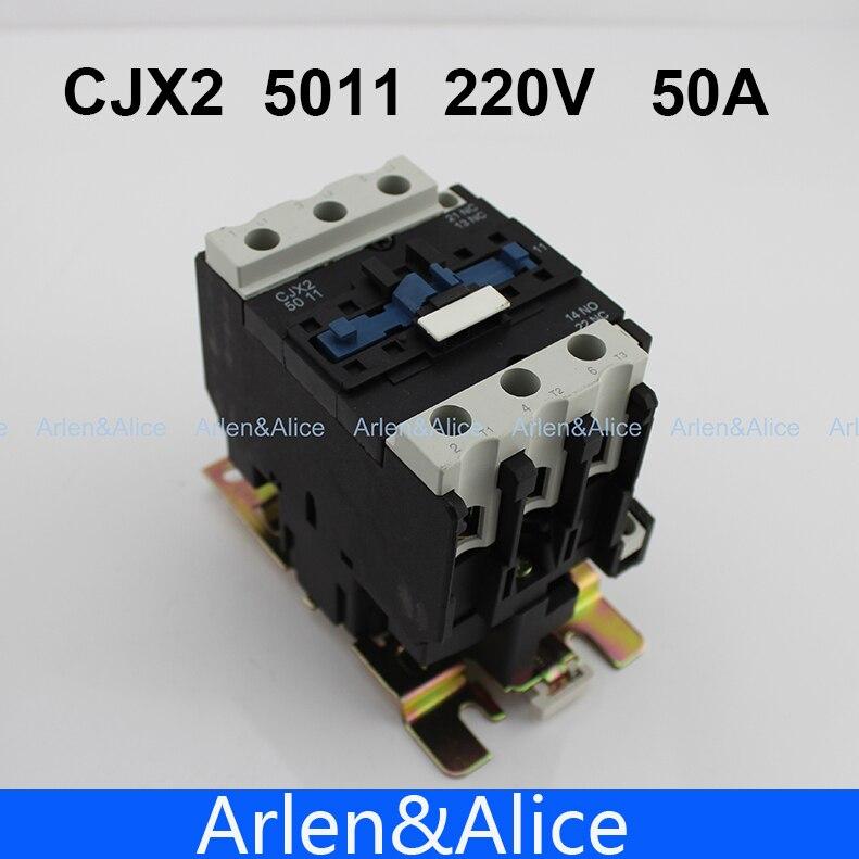 Замыкатель CJX2 5011 AC LC1 50A
