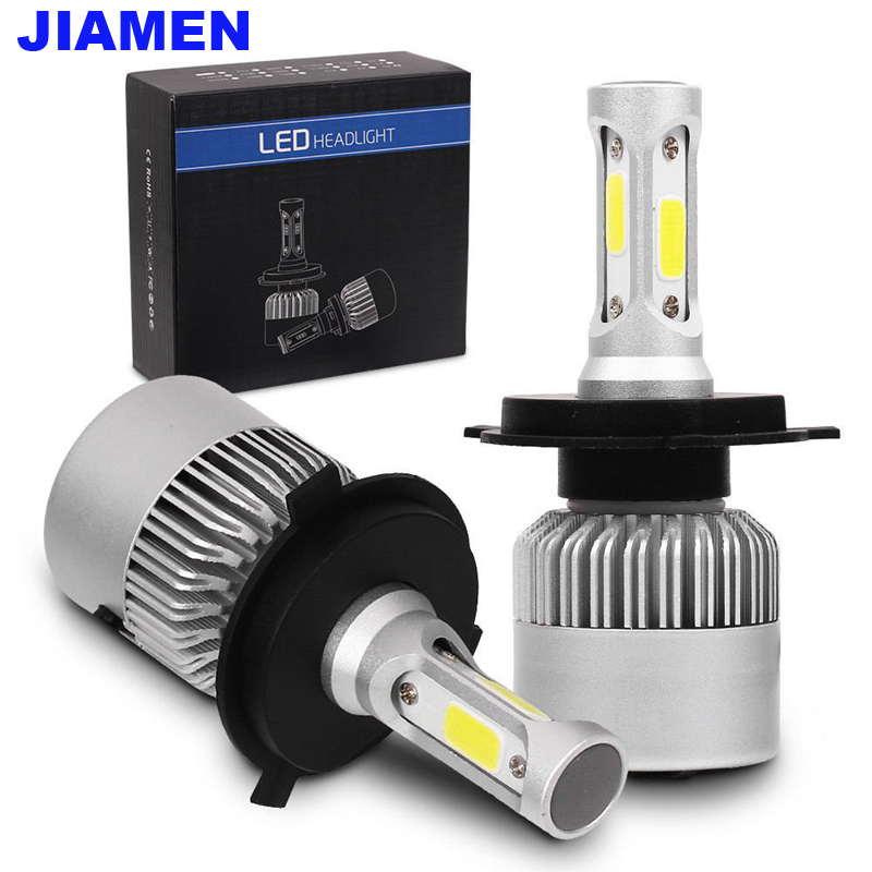 LED Car Headlight Lamp Light H4 H13 9004 9007 H1 H3 H7 H8 H9 H11 9005 9006 9012 H16 Car Headlight Bulbs COB LED Chip 72W 8000LMLED Car Headlight Lamp Light H4 H13 9004 9007 H1 H3 H7 H8 H9 H11 9005 9006 9012 H16 Car Headlight Bulbs COB LED Chip 72W 8000LM