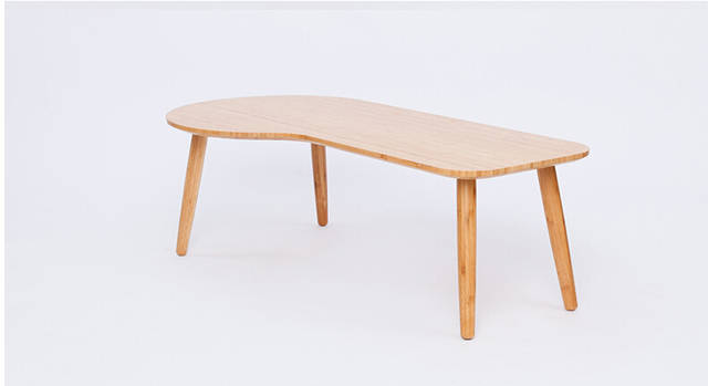 Low Unique Bamboo Coffee Table Modern Design Sofa Side Furniture Living Room Tea Vintage Small