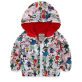 Boys jackets Spring Autumn Hooded Baby Boys Outerwear Coats Children Cartoon Jackets For Boy Kid Windbreaker Clothes