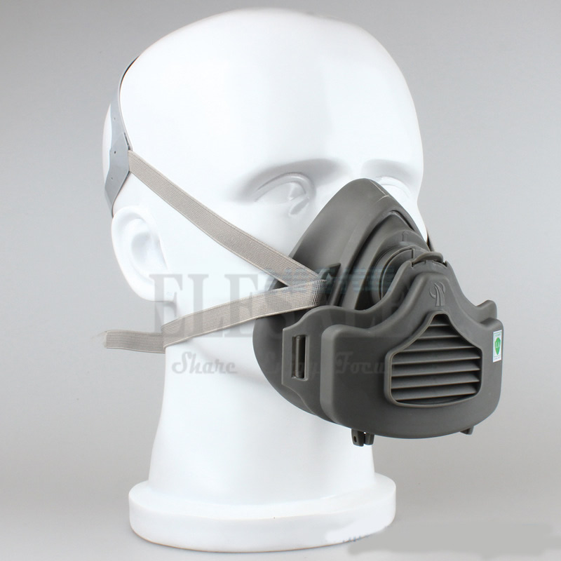 Half Face Dust Mask Dust-Proof Respirator For Builder Carpenter Daily Haze Protection Work Safety Mask 4 Layer Fliter лонгслив men of all nations лонгслив поло