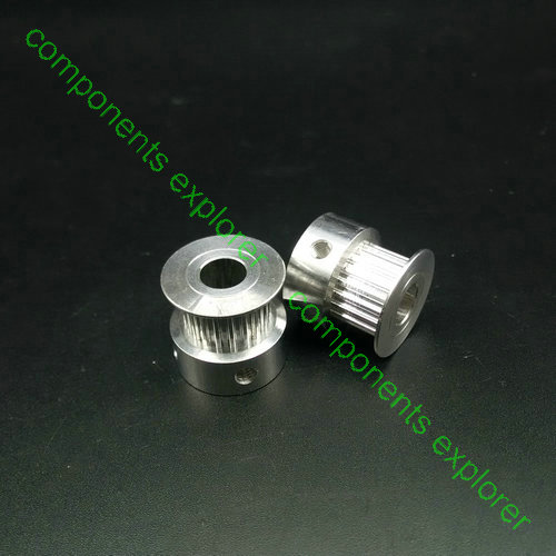 S2M 24 Tooth 24T 8mm Bore Aluminum Timing Pulley