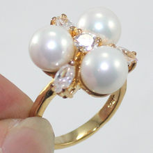 New Design !6 Clour Free Shipping 8MM Pink /Black/Multi/ Blue/Gold/White South Sea Shell Pearl Ring A1012(China)