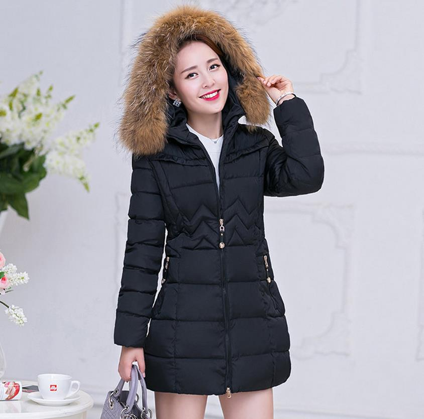 ФОТО Hot fashion autumn and winter warm women coat  jacket cotton jacket free shipping