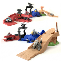 Dinotrux Dinosaur Truck Active Dinosaur Toy Car Multiple Scenes Can Assemble Children's Mini Dinosaur Model track Toys