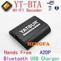 Yatour BTA Bluetooth Hands Free Call A2DP Car kits For Renault Siemens VDO Dayton 8-pin A2DP Music for Smart Phone