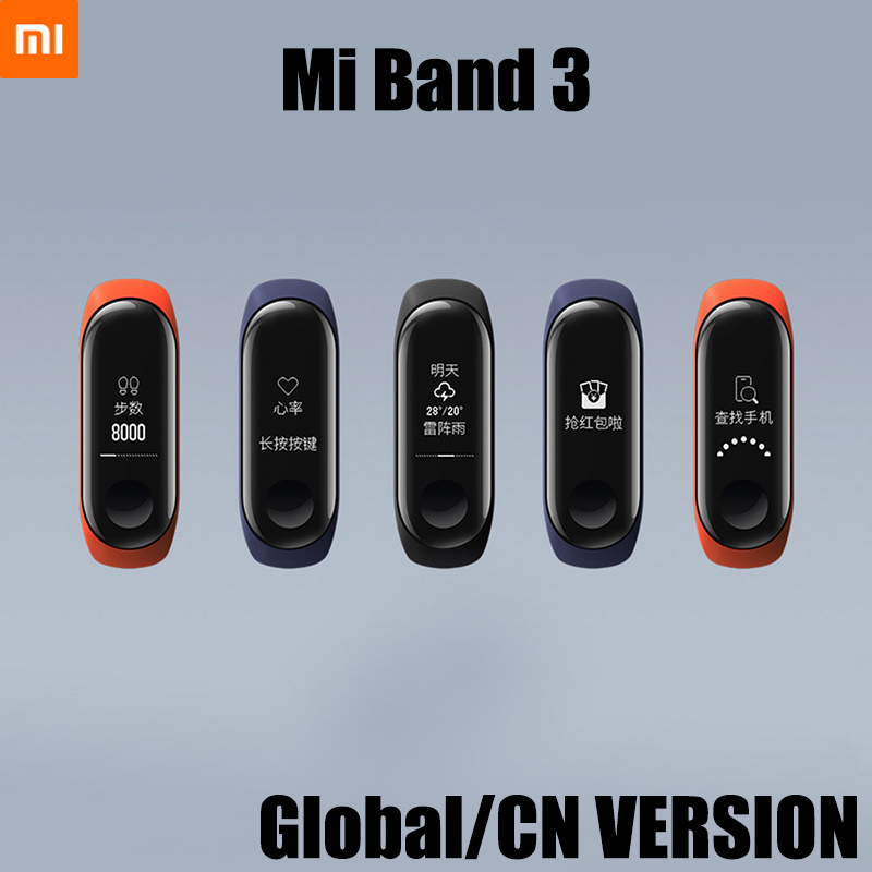 Xiaomi Mi Band 3 Smart Wristband Band Fitness Bracelet Touch OLED Message Heart Rate 0.78 OLED Instant Message Call BluetoothXiaomi Mi Band 3 Smart Wristband Band Fitness Bracelet Touch OLED Message Heart Rate 0.78 OLED Instant Message Call Bluetooth