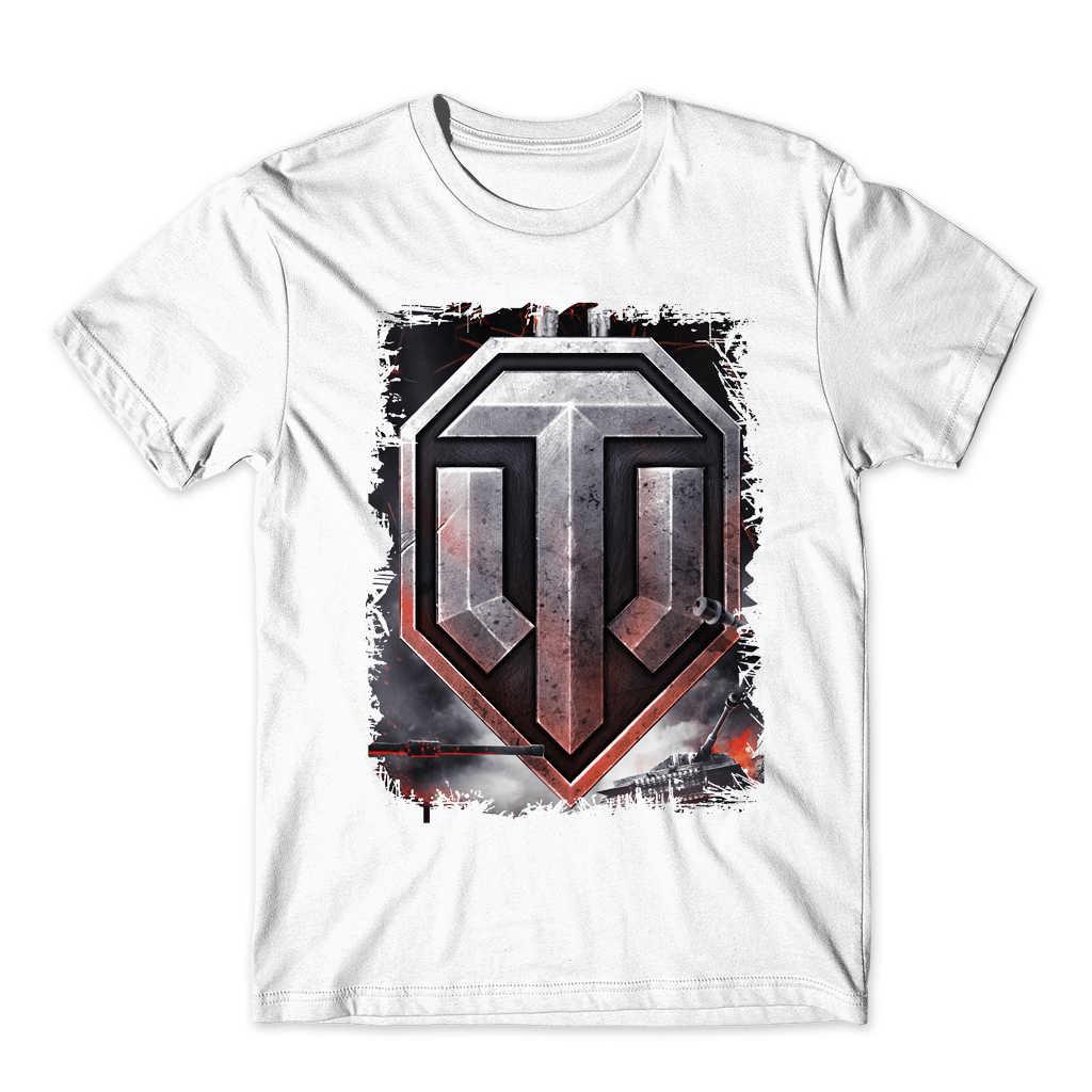 f01427268 ... Novelty fashion funny men t shirt World War 2 Tank art print T-shirt  World