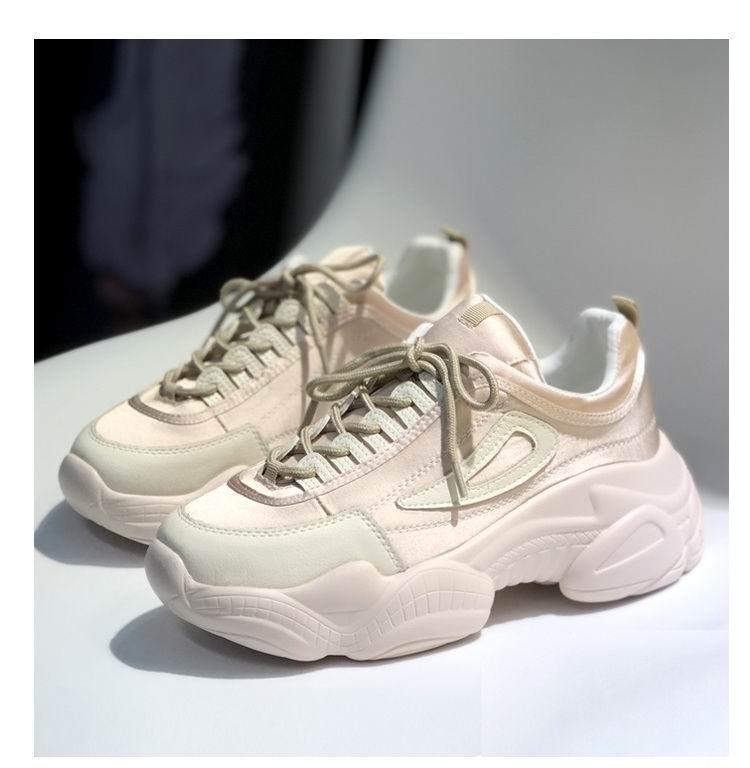 Británicas Rosa Primavera De Mujeres Tendencia 39 Plataforma Las Plana Ocio Rosado Errfc 35 blanco Nueva Casuales Mujer Zapatos Moda 0qxItPnEwB