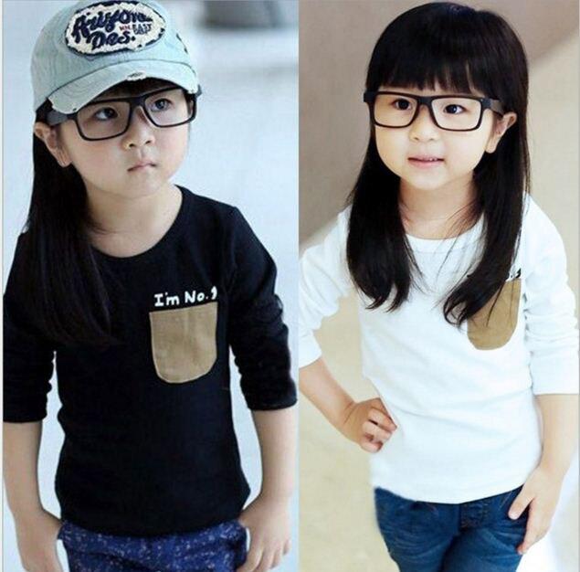 Girls T-Shirt Clothing Boys Spting/autumn Long-Sleeved Children's And