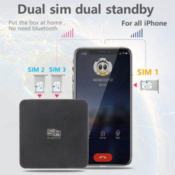 3 SIM 3 Standby Box 3 SIM Activate Online at the same time iShere SIM ADD for i Phone 6/7/8/X SIM at home ,no need carry фото