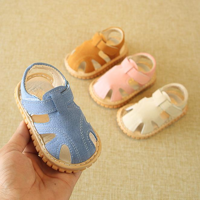 2018 Baby Boys and Girls sandals Summer fashion Infant sneakers non-slip Rubber sole baby Sandals 0-24 Months