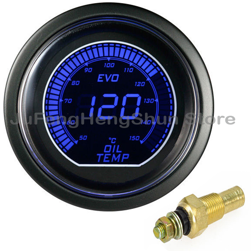 Led Auto Gauges : New quot mm oil temp gauge auto digital temperature