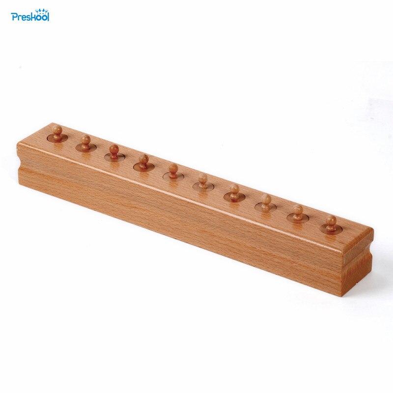 Bébé Jouet Montessori Monocylindre 4 Sensorielle Formation Préscolaire Éducation de la Petite Enfance Brinquedos Juguetes
