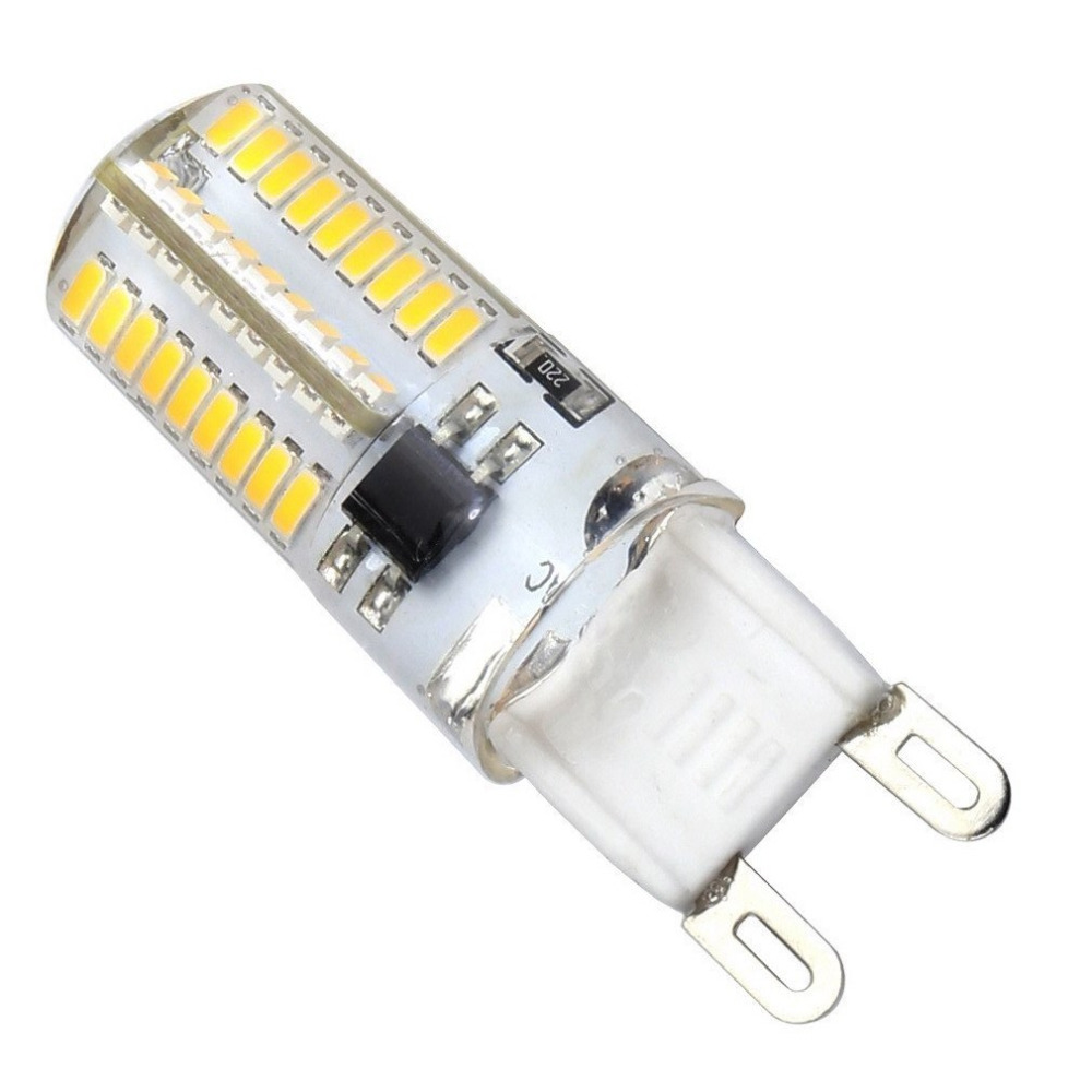 g9 led bulb dimmable ac 110v 4w equivalent 40w g9 halogen lamp warm white 3000k 360 - G9 Led Bulb