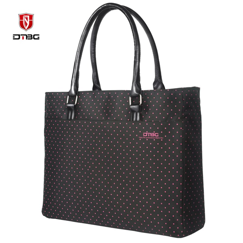 DTBG 2018 15.6 Inch Briefcase Laptop <font><b>Handbag</b></font> Women Tote Lovely Girl Laptop Bag Waterproof Casual Style Bags For HP Lenovo <font><b>Dell</b></font>