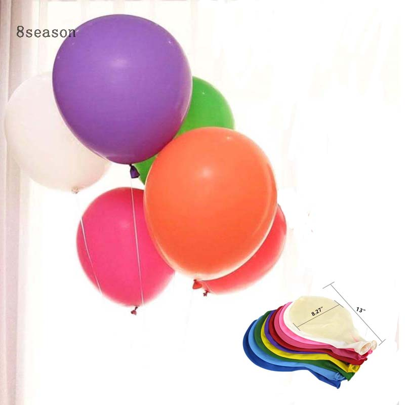 8Season Giant Balloon 36 Latex Adult Wedding Decoration Colorful Balloons Happy Birthday Party Christmas Gifts For Family in Ballons Accessories from Home Garden
