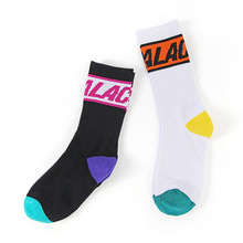 цена 2019 New Novelty Full Cotton Hip Hop Harajuku Men Socks Skateboard Calceines Mujer Street Skarpetki Socks