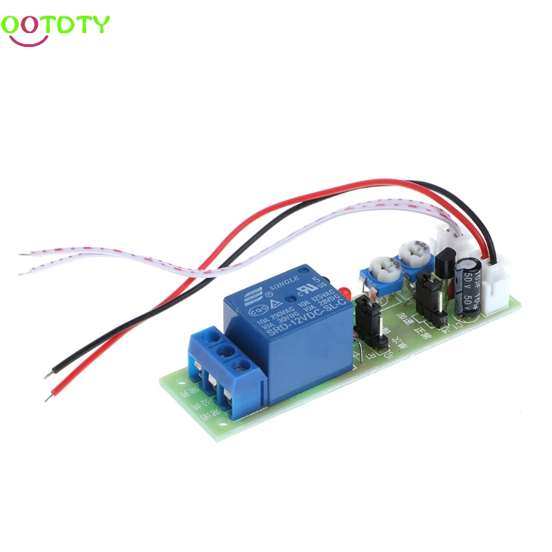 12V DC Infinite Cycle Delay Timing Timer Relay ON OFF Switch Loop Module Trigger 828 Promotion dc 12v relay multifunction self lock relay plc cycle timer module delay time switch